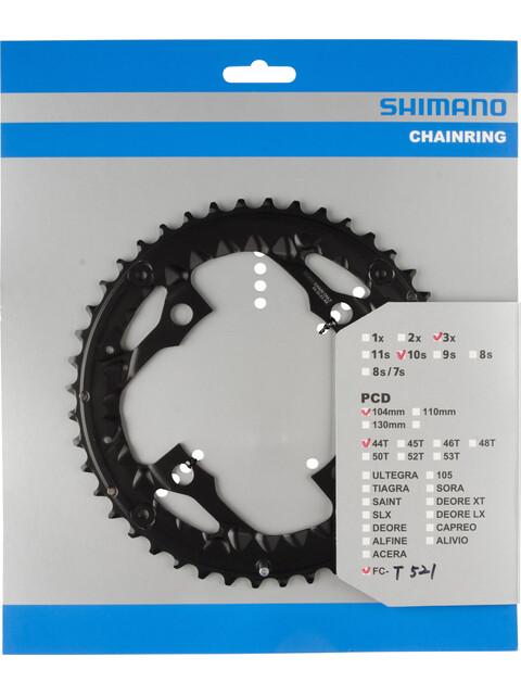 Shimano Trekking FC-T521 Kettenblatt AE 10-fach schwarz